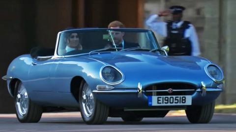 El Jaguar E-Type Concept Zero del príncipe Harry