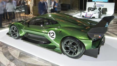 Lateral izquierdo del Brabham BT62