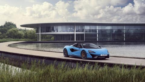 McLaren 570S Curacao Blue 2