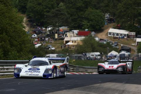Mola el Porsche 919 Hybrid y 956 C en Nürburgring