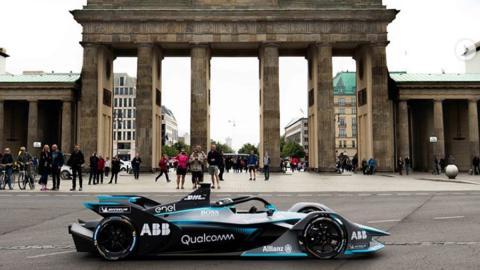 Nico Rosberg con el Gen en Berlín