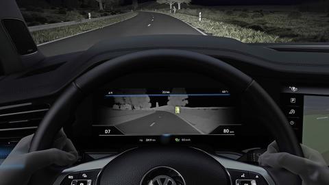 Night Vision Volkswagen