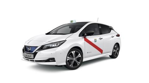 Nissan Leaf taxi Madrid