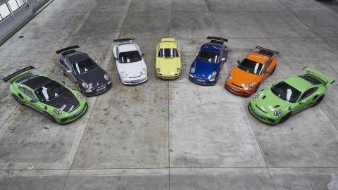 Porsche 911 GT3 RS versiones