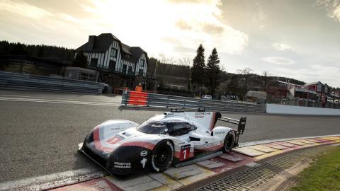 Porsche 919 Hybrid Evo circuito