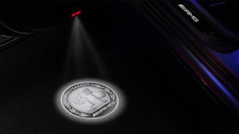 Mercedes lujo LED suelo