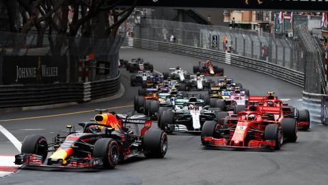 SAlida GP Mönaco F1 2018