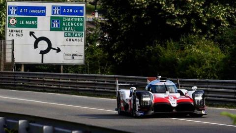 Alonso líder test Le Mans 2018