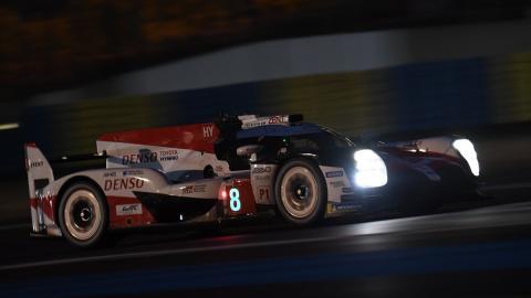 Fernando Alonso en el Toyota Le Mans WEC