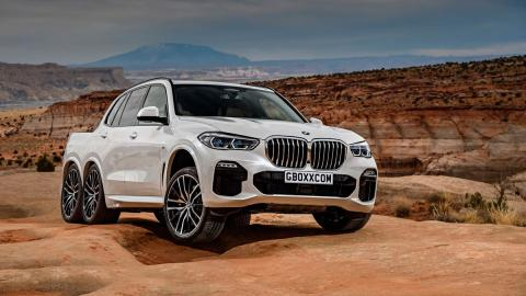 BMW X5 pick up 6x6