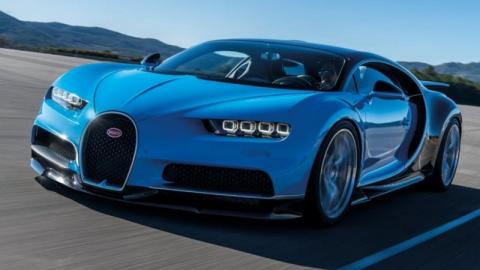 Dos Bugatti Chiron en Nürburgring