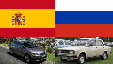 Coches España-Rusia