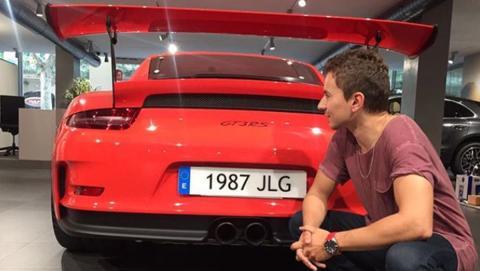 Los increíbles coches de Jorge Lorenzo GT3 RS 11