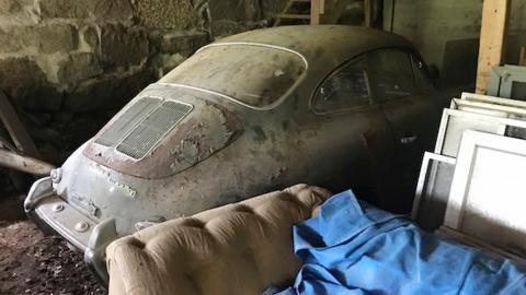 ¿Es este Porsche 356B el 'barn find' del año?