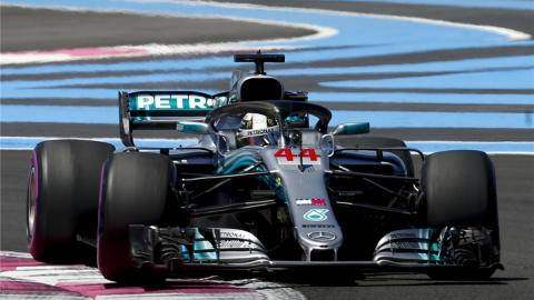 Lewis Hamilton GP Francia F1 2018