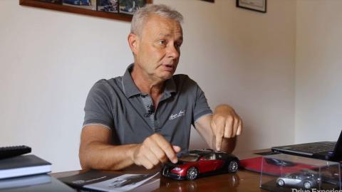 Loris Bicocchi accidente Bugatti Veyron