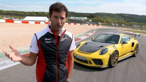 Mark Webber Posche 911 GT3 RS