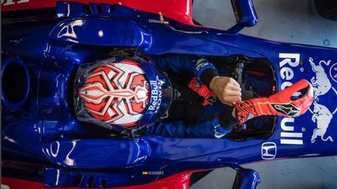 Márquez en el Red Bull