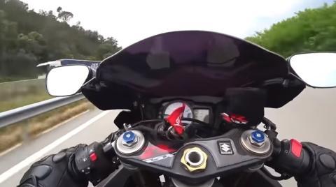 Motorista detenido por ir a 258 km/h