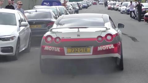 Nissan GT-R cambio roto
