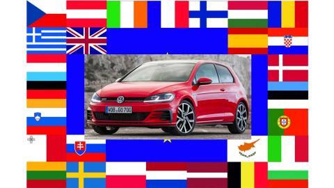 volkswagen golf gti comprar precios paises europa