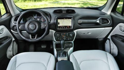 Prueba Jeep Renegade 2019 (interior)