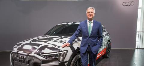 CEO Audi detenido