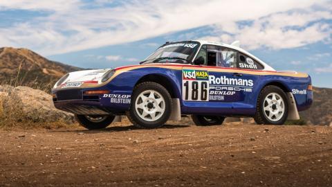 Subasta Porsche 959 Rallye París-Dakar 1985