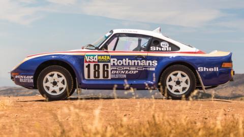 Se subasta Porsche 959 Rallye París-Dakar 1985