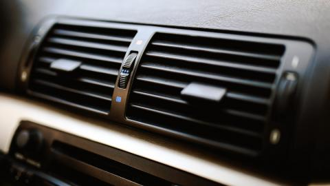Ventilación de un BMW