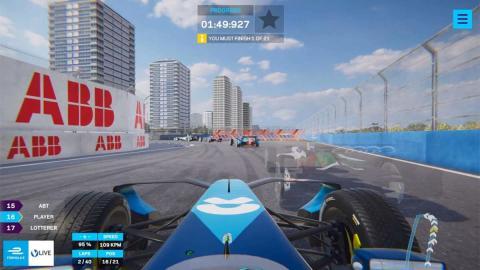 simulador futuro carrera formula monoplaza juego