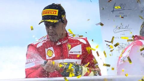 Alonso, el piloto con más podios en el GP de Alemania F1 2018