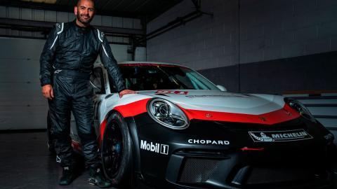 Chris Harris Porsche Supercup