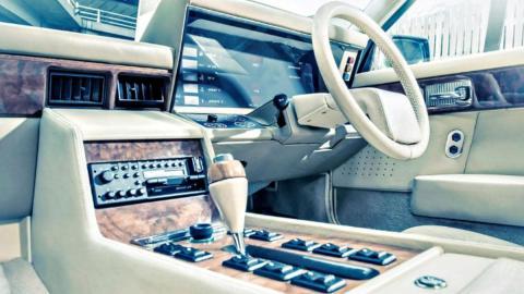 Cuadro Aston Martin Lagonda