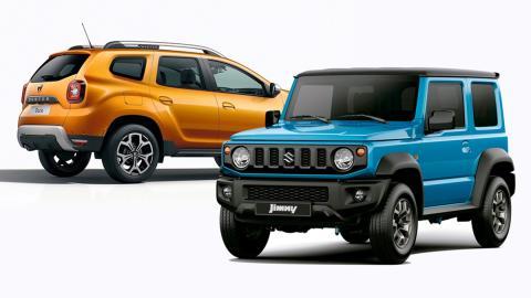 ¿Dacia Duster o Suzuki Jimny?