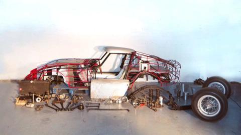 deportivo clasico lujo italia replica GTE