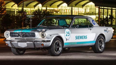 El Ford Mustang de 1965 autónomo