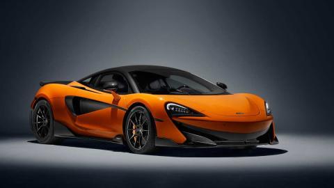 deportivo lujo superdeportivo britanico altas prestaciones naranja verde