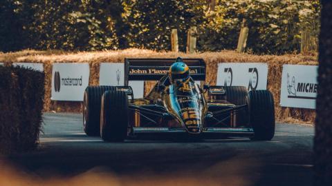 Los mejores coches de Goodwood 2018 Lotus 97T Senna