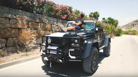 todoterreno lujo off-road descapotable one-off g500 4x4