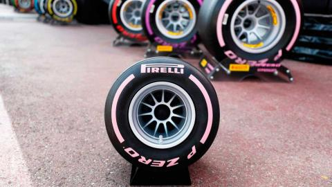 Pirelli F1 altavoz neumático