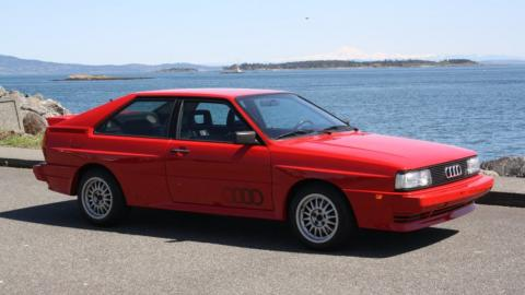 Se subasta este Audi Quattro de 1985 y lo quieres