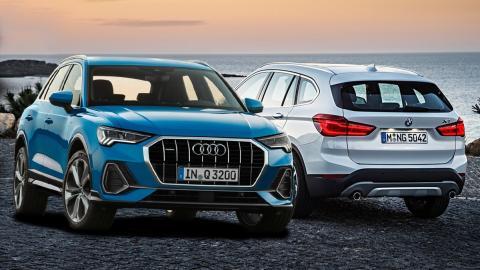 Audi Q3 2019 o BMW X1