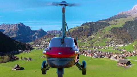 helicoptero lujo versatilidad