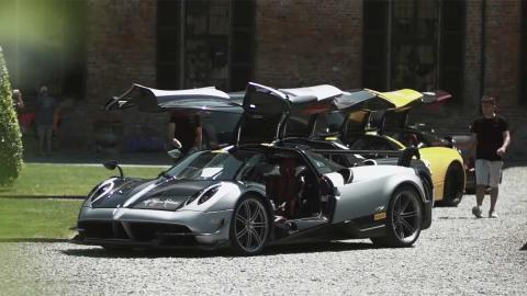 viaje lujo italia exclusivo huayra puertas deportivo