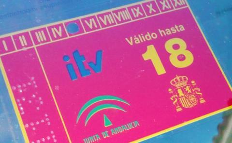 Pegatina ITV