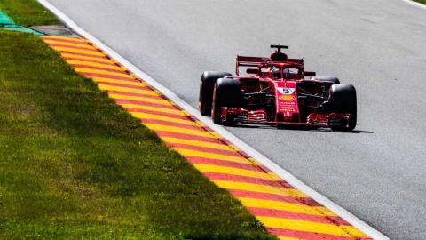 Vettel GP Bélgica F1 2018