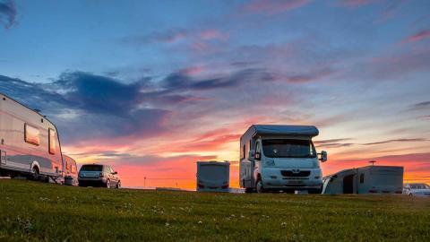 Viaje en caravana