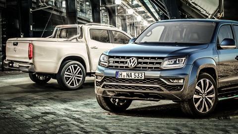 ¿Volkswagen Amarok o Mercedes Clase X?