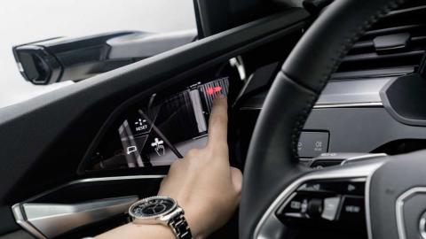 Audi e-tron 2018 Virtual Mirrors